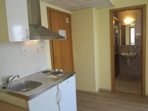 One-Bedroom Apartment (2 Adults + 2 Children) with Kitchenette and Balcony