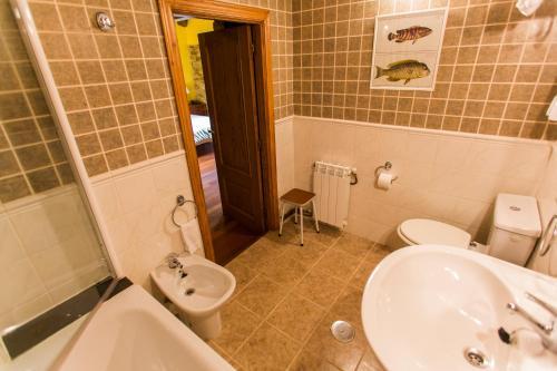 Doppel- oder Zweibettzimmer Casa do Merlo 4