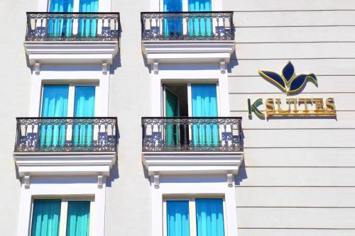 K Suites Hotel front view