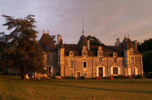 Château de la Giraudière entre Angers et Saumur