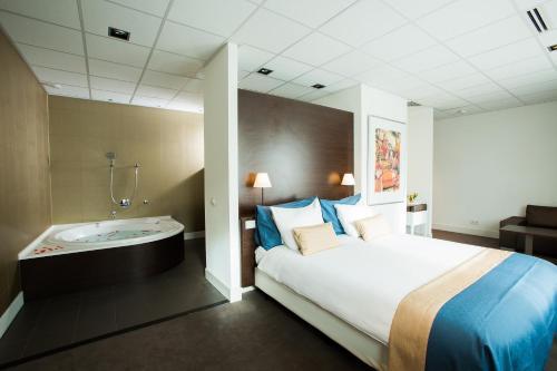 hotel med badekar Spa Sport Hotel Zuiver in Amsterdam hotel med badekar