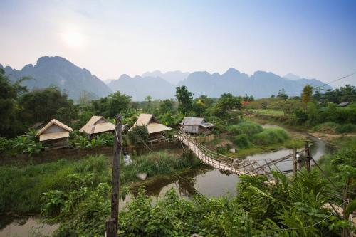 Отель Champa Lao Bungalows 2 звезды Лаос
