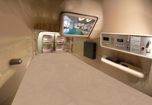 Comfort Capsule Room for Men with Spa Access