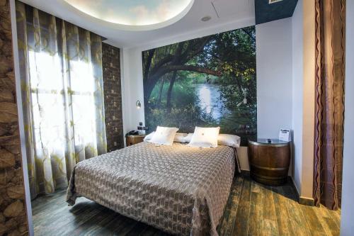 Habitación Doble - 1 o 2 camas - Uso individual Hotel el Lagar de Isilla 14