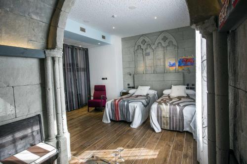 Habitación Doble - 1 o 2 camas - Uso individual Hotel el Lagar de Isilla 9