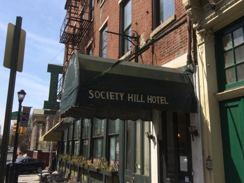 Society Hill Hotel At Independence Park Philadelphia Pa