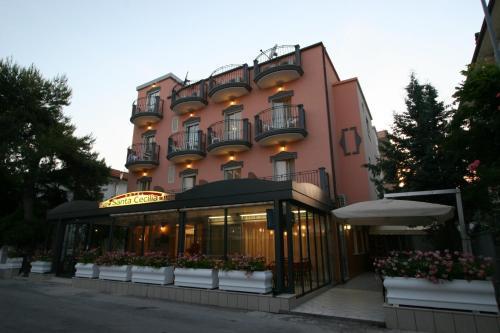 Hotel Santa Cecilia front view