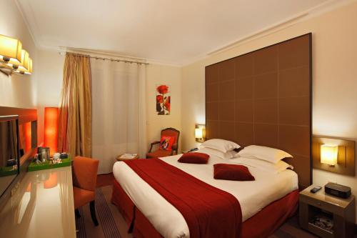 Westside arc de triomphe hotel h tel 36 rue pierre for Hotels 75017