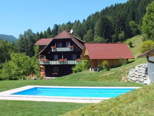 Steuerer Hof - Apartment mit 1 Schlafzimmer und Poolblick