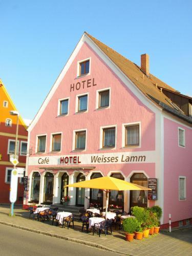Отель Hotel Weisses Lamm 2 звезды Германия