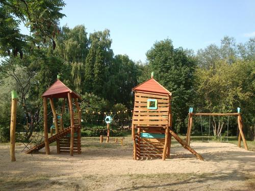 Penzion v parku
