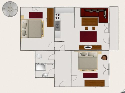 Appartement Fossa