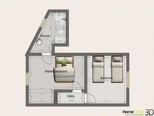 منزل بغرفتي نوم (Two-Bedroom House)