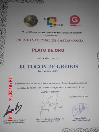 Отель Hostal-Restaurante Fogón de Gredos 2 звезды Испания