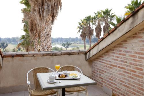 Habitación Doble Superior con terraza Ad Hoc Parque Golf 9