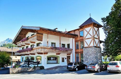 Отель Erlebnislandgasthof Reitherwirt & Jagdhof Hubertus 3 звезды Австрия