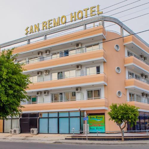 Отель San Remo Hotel 2 звезды Кипр