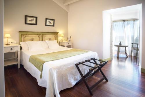 Habitación Doble Superior con terraza Hotel Quinta de San Amaro 4