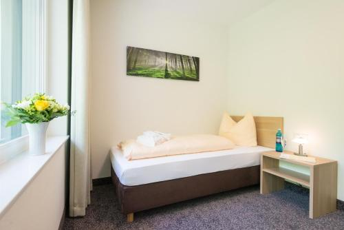 Vienvietis kambarys su balkonu (Single Room with Balcony)