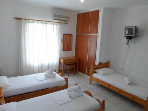 Studio cu 2 paturi twin (Studio with 2 Twin Beds)