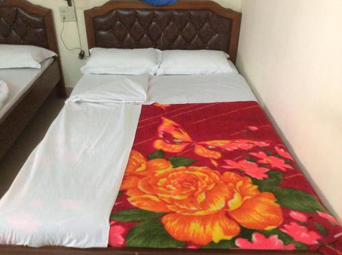 Standard Double Room with Two Double Beds with Balcony