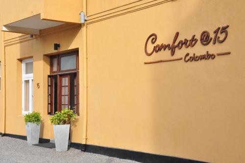 Comfort@15 Hotel Colombo
