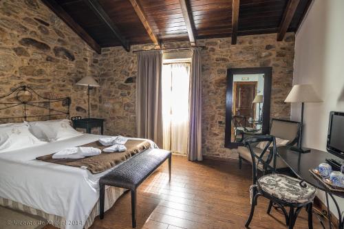 Habitación Doble - 1 o 2 camas - Uso individual Hotel Rustico Lugar Do Cotariño 2