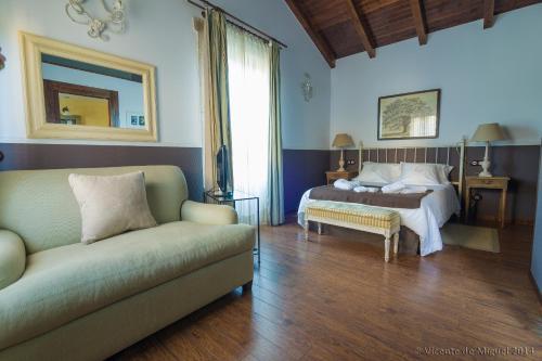 Habitación Doble - 1 o 2 camas - Uso individual Hotel Rustico Lugar Do Cotariño 4