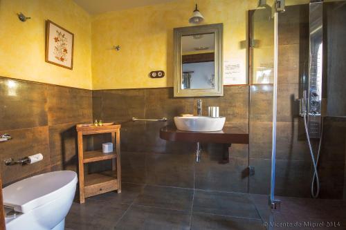 Habitación Doble - 1 o 2 camas - Uso individual Hotel Rustico Lugar Do Cotariño 5