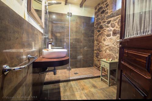 Habitación Doble - 1 o 2 camas - Uso individual Hotel Rustico Lugar Do Cotariño 8