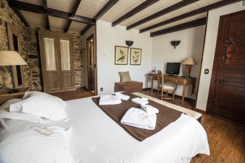Habitación Doble - 1 o 2 camas - Uso individual Hotel Rustico Lugar Do Cotariño 9