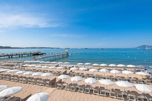 Cannes, Plage-Palais c'est ici !