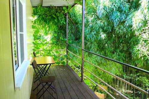 Stay at Bamboo Khutor Guest house