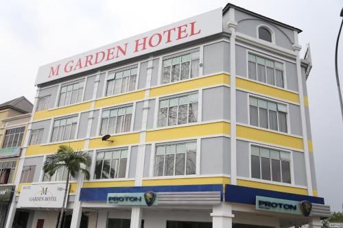 M Garden Hotel front view