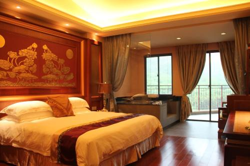 Bilik Deluxe Double atau Twin dengan Pemandangan Gunung (Deluxe Double or Twin Room with Mountain View)