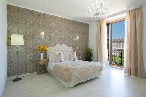 Habitación Doble con vistas panorámicas Hostal Central Palace Madrid 1