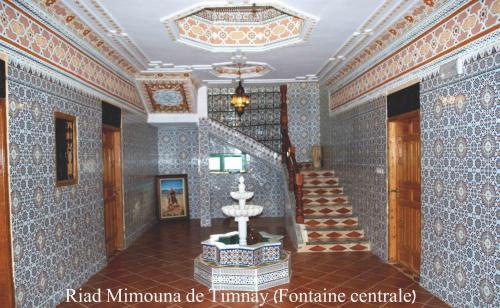 Great Riad Mimouna De Timnay With Plan Maison Marocaine