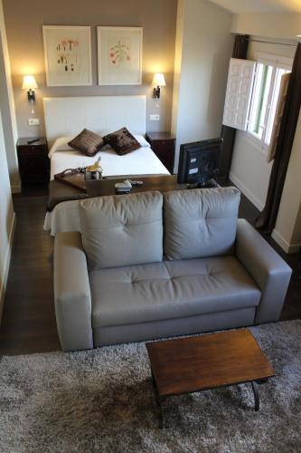 Double Room with Lounge Hotel Leonor de Aquitania 4