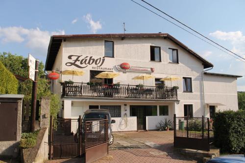 Záboj restaurant front view