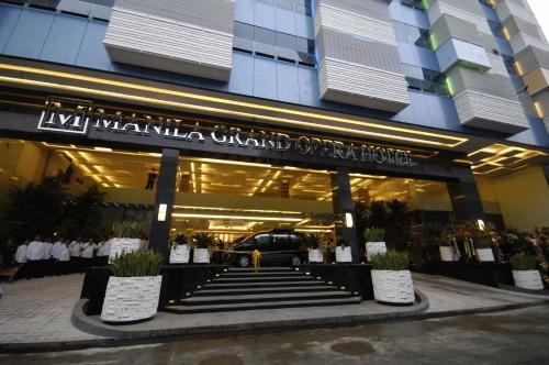Отель Manila Grand Opera Hotel 4 звезды Филиппины