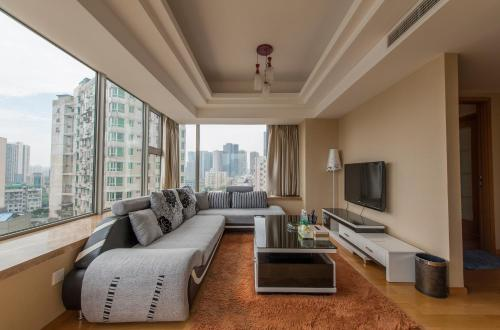 Отель Chengdu Langyu Fulu Boutique Apartment 3 звезды Китай