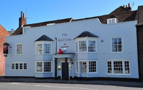 The Red Lion hotel in Fareham