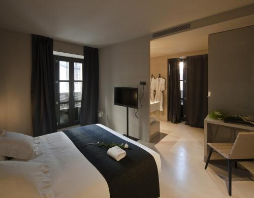 Doppel- oder Zweibettzimmer - Einzelnutzung Caro Hotel 2