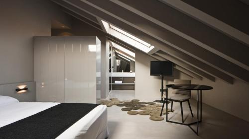 Doppel- oder Zweibettzimmer - Einzelnutzung Caro Hotel 6