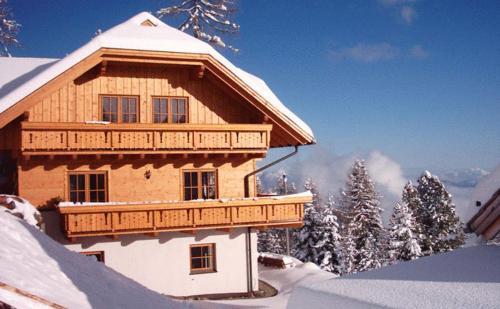 Almhaus Karantanien - Apartment mit 1 Schlafzimmer und Terrasse