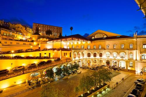 Hotel Americano Rossio front view