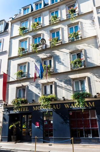 Hotel monceau wagram h tel 7 rue rennequin 75017 paris for Hotels 75017