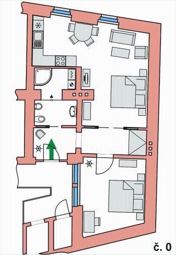 Apartment Stare Mesto Anenska