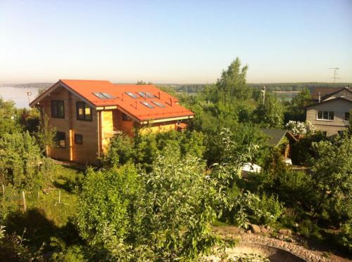Villa u Vody front view