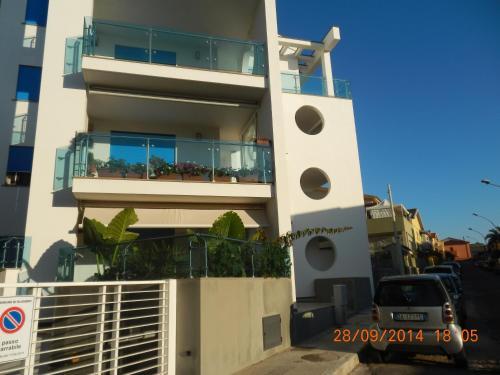 C Apartments Alghero front view